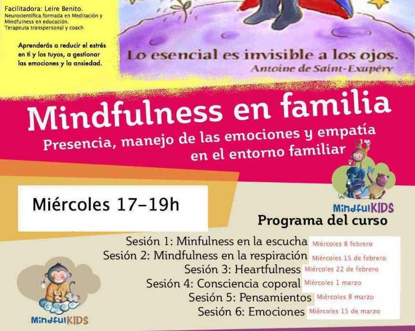 Curso Mindfulness par padres y educadores PRESENCIAL DONOSTI